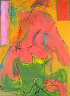Pink Lady. Willem De Kooning.